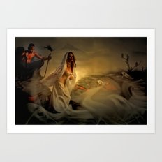Allegory - Fantasy Art Art Print