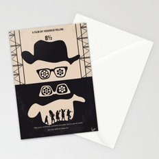 No731 My 8 1 2 minimal movie poster Stationery Cards