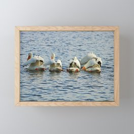 Butts in the Air Framed Mini Art Print