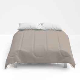 simply taupe Comforters