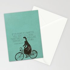 Audrey always knows what to say. Stationery Cards