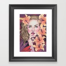 I'd be love and sweetness if I had you Framed Art Print