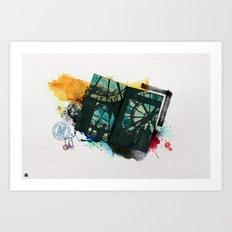 Paris - 2 Art Print