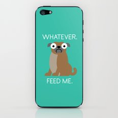 The Pugly Truth iPhone & iPod Skin