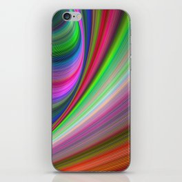Vivid hypnosis iPhone Skin
