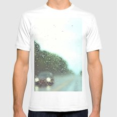accidental photo Mens Fitted Tee White MEDIUM