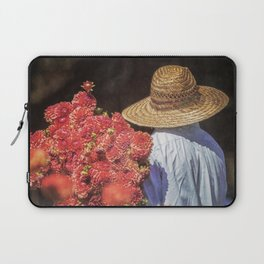 Picking the Flowers Laptop Sleeve