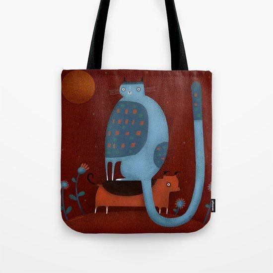 BLUE BOSS Tote Bag