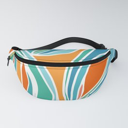 Campfire Abstract Fanny Pack