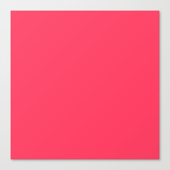 Pinky Red Canvas Print