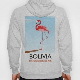 Bolivia Flamingo vacation print Hoody