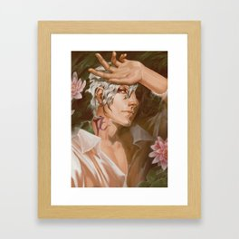 Thancred Waters: Water Lily Framed Art Print