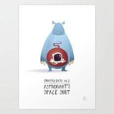 Monster Diets No.1 Art Print