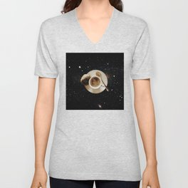 Galaxy coffee Unisex V-Neck