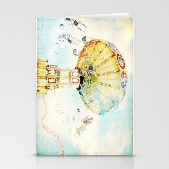 Step back into fun Stationery Cards