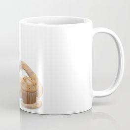 Banana snake, banana muffin, and chai latte Coffee Mug