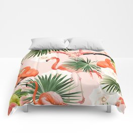 Flamingo Guava #society6 #decor #buyart Comforters