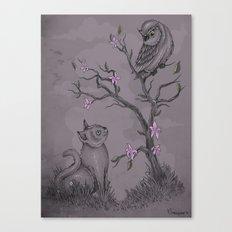 Be near me Canvas Print