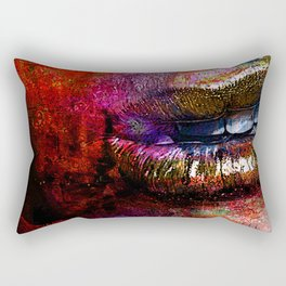 Nothing to say  ( collaboration with the talented Timothy Davis) Rectangular Pillow