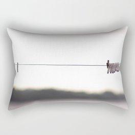 tow the line Rectangular Pillow