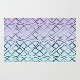 MERMAID Glitter Scales Dream #4 #shiny #decor #art #society6 Rug