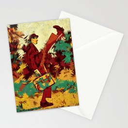 The ministry of silly walks artwork Stationery Cards