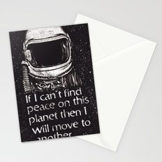 out of here Stationery Cards