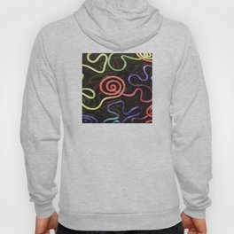Finding My Way Abstract Design Hoody