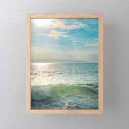 The Sea Framed Mini Art Print