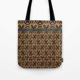 ArtDéco gold Tote Bag