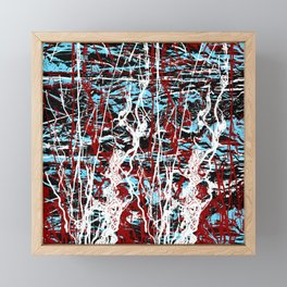 Electric Bubbles Framed Mini Art Print