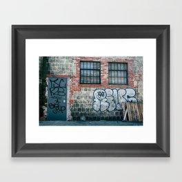 Casper Framed Art Print