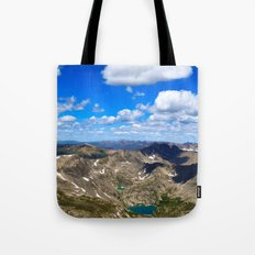 Above the World Tote Bag