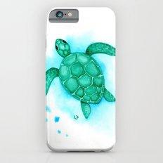 Nursery Style Sea Turtle iPhone 6s Slim Case