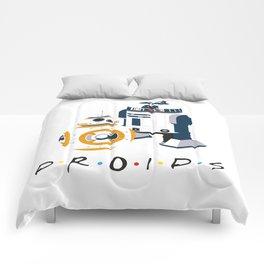 Droid Friends Comforters
