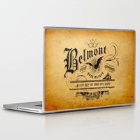 castlevania Laptop & iPad Skins featuring Belmont Pest Control Specialists by Greg Barnes