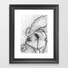In The Dark Of It Framed Art Print