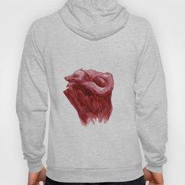 Pink Fox #watercolor #ink Hoody