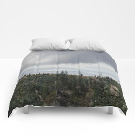 Out Over The Edge Comforters