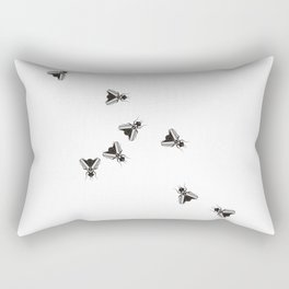 The Flies Rectangular Pillow