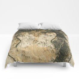 "Paul Gauguin ""Crouching Tahitian"" Comforters"