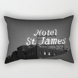 The Historic Hotel St. James Rectangular Pillow