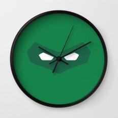 Green Lantern superhero Wall Clock