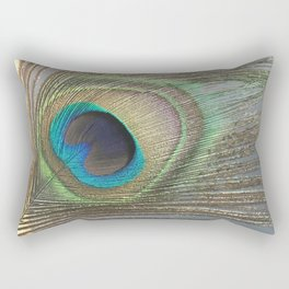Peacock Feather No.1 | Feathers | Nadia Bonello | Ottawa | Canada Rectangular Pillow