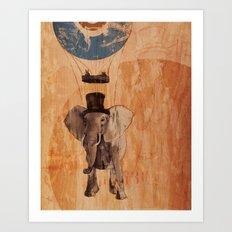 Sir Pachyderm Art Print
