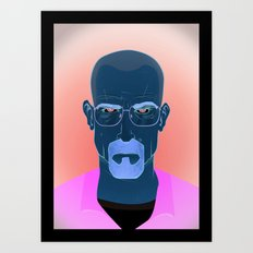 Mr. White Art Print