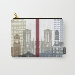 San Antonio skyline poster Carry-All Pouch