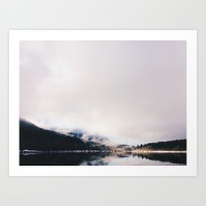 Mountain Lake (iPhone) Art Print