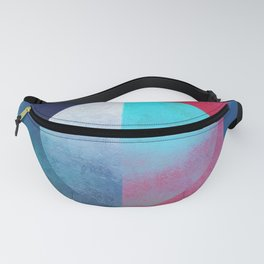 Broken Circle (Abstract Allegory) II version Fanny Pack