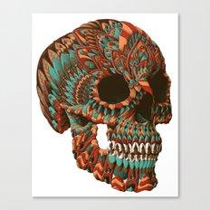 Ornate Skull (Color Version) Canvas Print